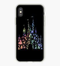Das glücklichste Schloss der Welt (Regenbogenexplosion) iPhone-Hülle & Cover