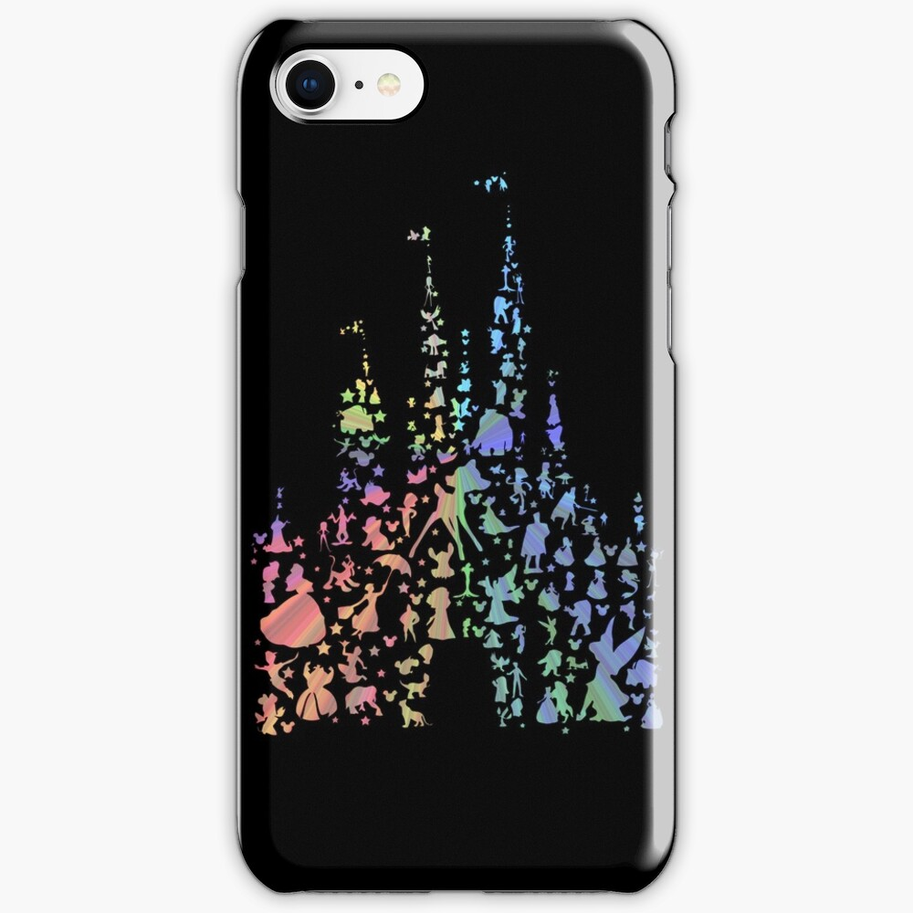 Happiest Castle On Earth (Rainbow Explosion) iPhone Case & Cover