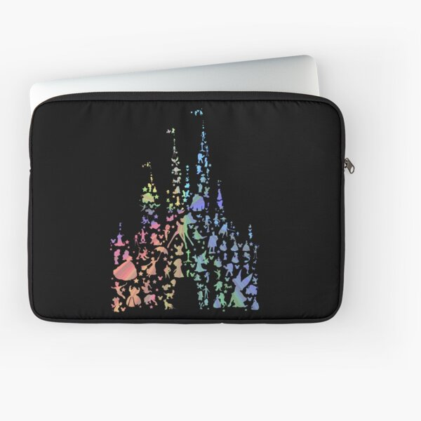 Happiest Castle On Earth (Rainbow Explosion) Laptop Sleeve