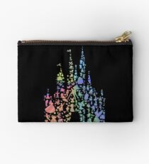 Happiest Castle On Earth (Rainbow Explosion) Zipper Pouch