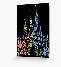 Happiest Castle On Earth (Rainbow Explosion) Greeting Card