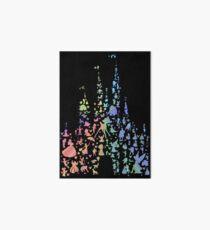 Happiest Castle On Earth (Rainbow Explosion) Art Board
