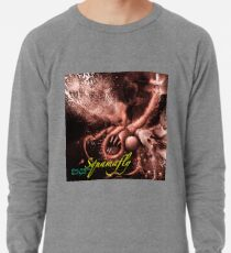 TIME AERIALS Squamafly Red with text Lightweight Sweatshirt
