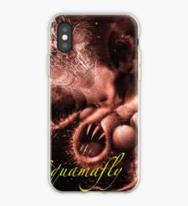 TIME AERIALS Squamafly Red with text iPhone Case