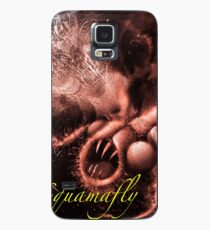 TIME AERIALS Squamafly Red with text Case/Skin for Samsung Galaxy