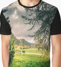 Golf Course Landscape Graphic T-Shirt