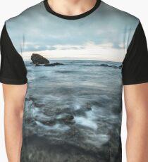 Stormy Seas in Okinawa Graphic T-Shirt