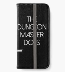 Fantasy RPG Swords Don't Kill People Dungeon Game Masters Do iPhone Wallet/Case/Skin
