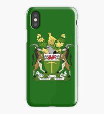 Rhodesian coat of arms iPhone Case/Skin