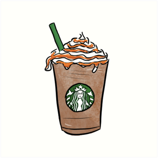 How to Draw a Starbucks Frappuccino Cute step by step ...