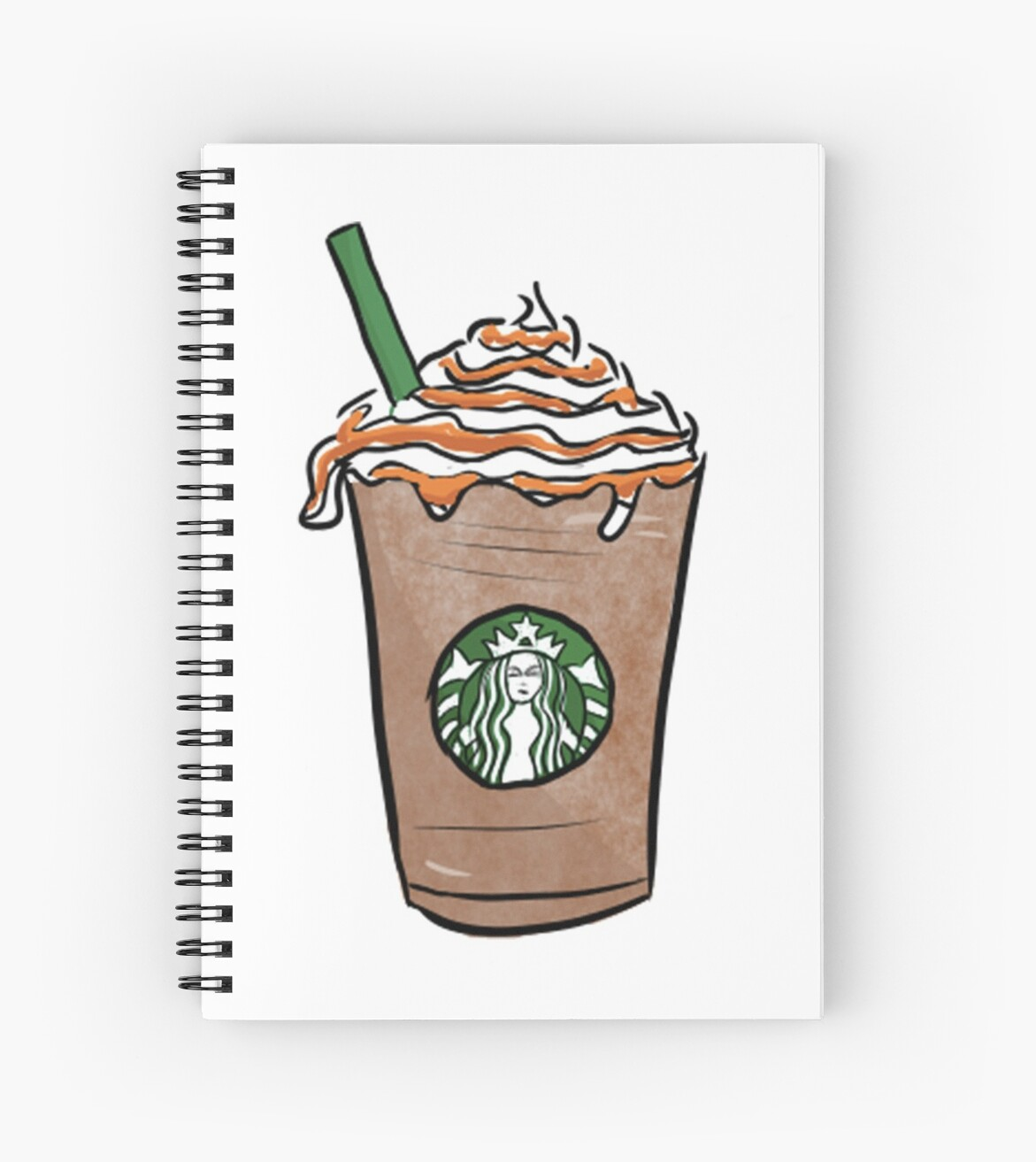 Starbucks Cartoon By Phuxi