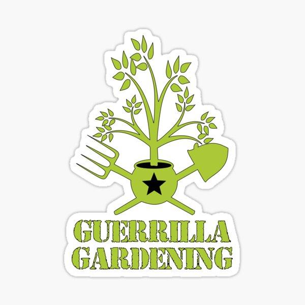 Guerrilla gardening Sticker