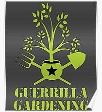 Guerrilla gardening Poster