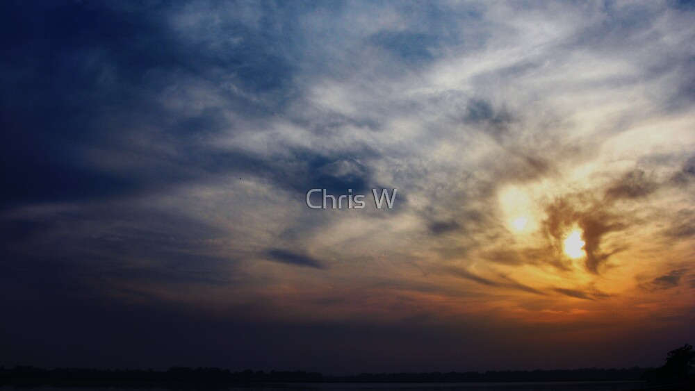 Long Pond Sunset by Chris W