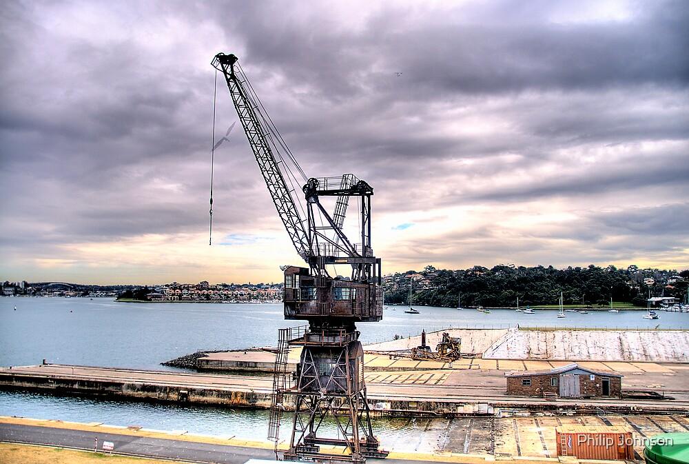 Obsolete - Cockatoo Island - The HDR Series - Sydney Australia by Philip Johnson