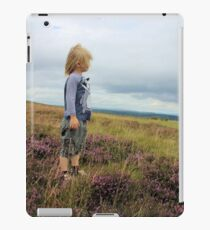 Looking out over the heather iPad Case/Skin