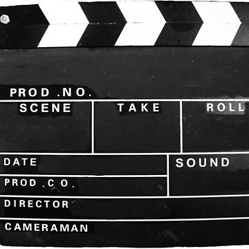 clapper board by TomConway