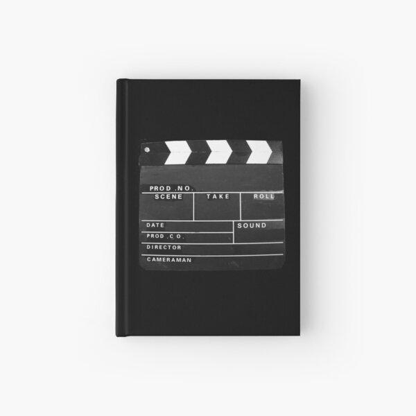 clapper board Film Movie cinema video producer vintage  Hardcover Journal