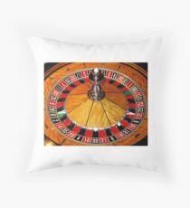 Las Vegas casino Tee Shirt, cards, prints by Tom Conway Art Throw Pillow