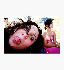 Crazy Alyssa Photographic Print