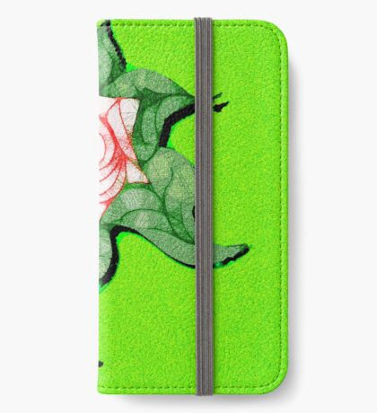 Scribblertoo Rose iPhone Wallet