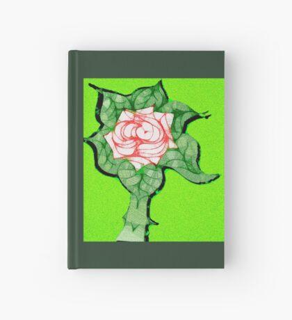 Scribblertoo Rose Hardcover Journal
