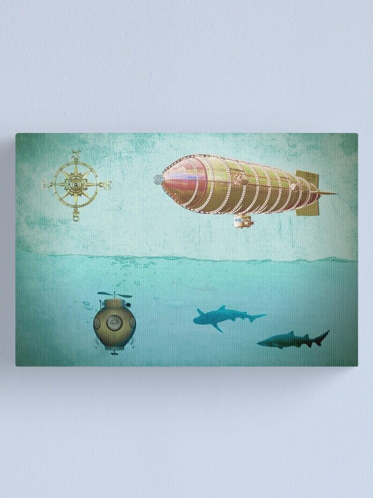 Alternate view of Navigators  Canvas Print