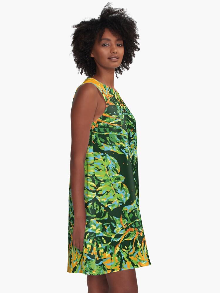 Alternate view of Tropic Totem A-Line Dress