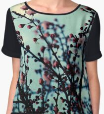 Spring Blossoms Through The Viewfinder - TTV Women's Chiffon Top