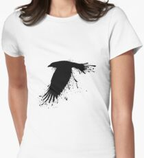 Ink Raven  Women's Fitted T-Shirt