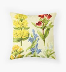 HD Vintage flowery bouquet design number 29~ Throw Pillow