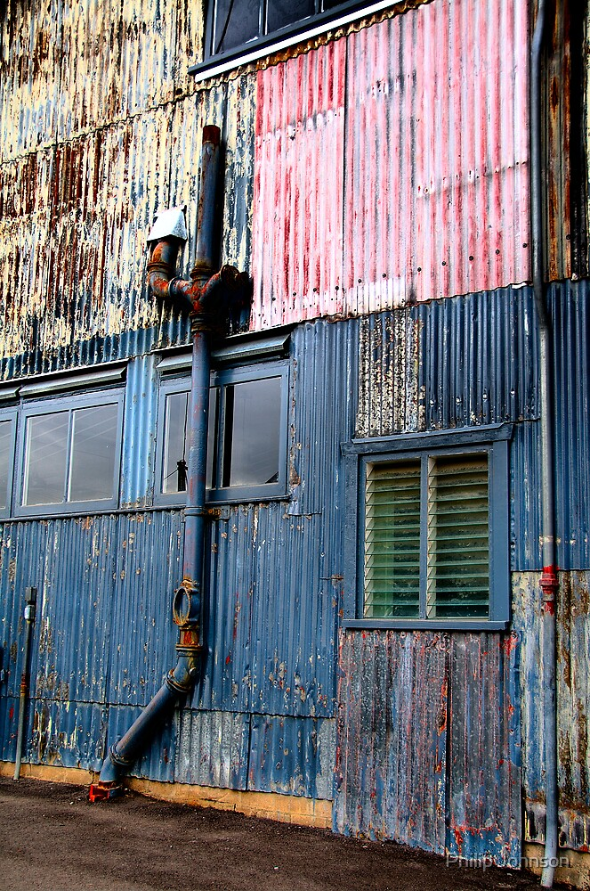 Colours On The Wall - Cockatoo Island  - The HDR Series - Sydney Australia by Philip Johnson