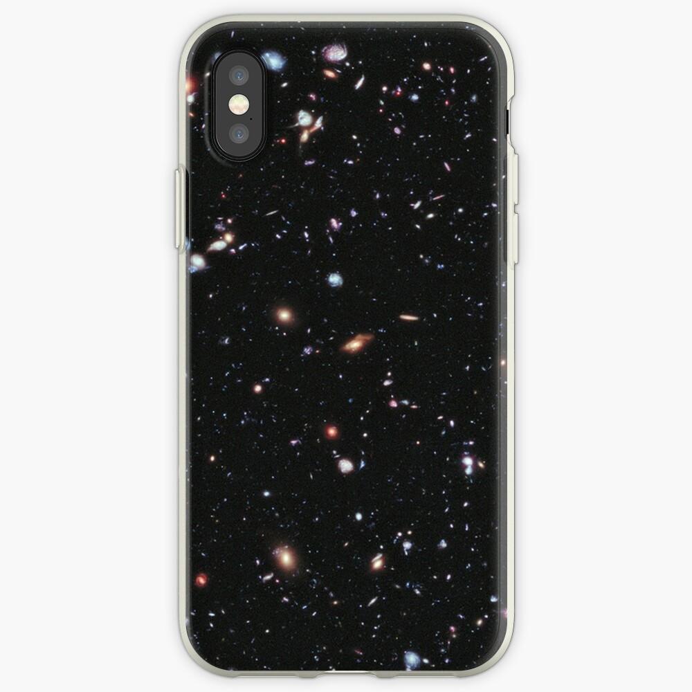 Hubble, COSMOS, Nasa, extremes tiefes Feldbild, Raum, Konstellation, Fornax iPhone-Hüllen & Cover