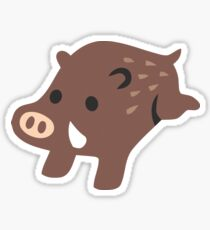 Boar Emoji Sticker