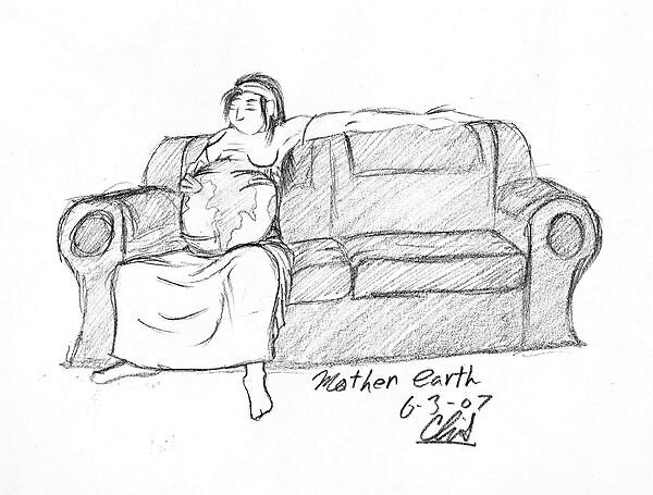 mother earth by sketchpad