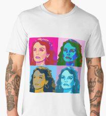 Warholized Elaine Marley Men's Premium T-Shirt
