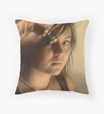 Of Two Minds Throw Pillow
