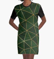 Kintsugi - Evergreen Graphic T-Shirt Dress