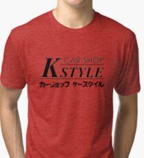 Car Shop K-Style Tri-blend T-Shirt