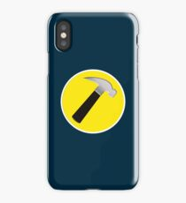 captain hammer iPhone Case