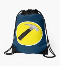 captain hammer Drawstring Bag