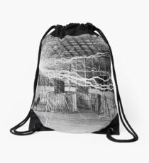 nikola tesla Drawstring Bag