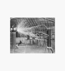 Nikola Tesla Galeriedruck