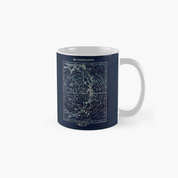 THE STAR CONSTELLATIONS : Vintage 1900 Galaxy Print Classic Mug