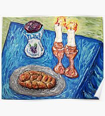 """Shabbat Shalom"" Poster"