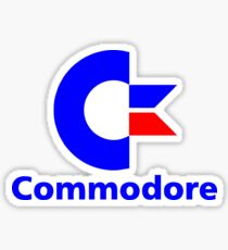 commodore Sticker