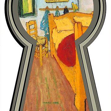 """Van gogh from the lock"" by 0990dav"