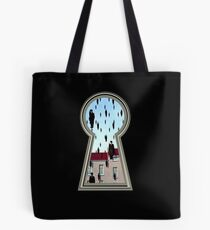 """Magritte from the lock"" Tote Bag"