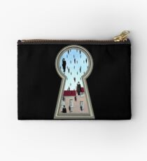 """Magritte from the lock"" Studio Pouch"