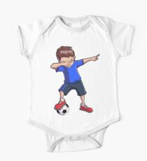Dabbing Soccer T shirt for Boys Dab Dance Funny Football Tee Kids Clothes